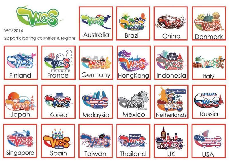 logo của các nước được thiết kế