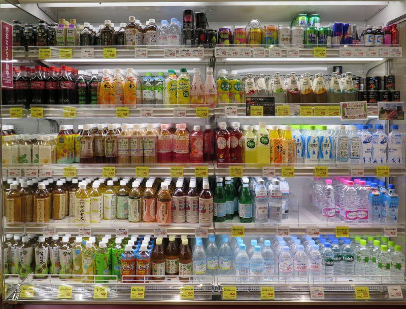 Đa dạng các loại thức uống ở Combini