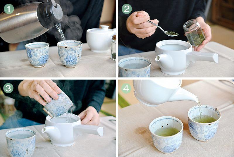 pha trà ngon
