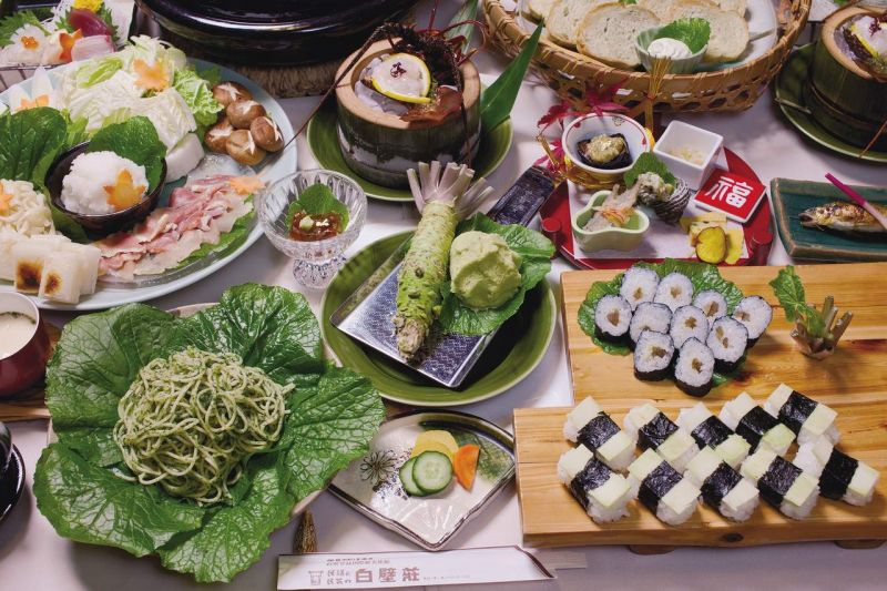 tiệc wasabi