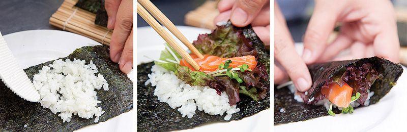 cuốn sushi