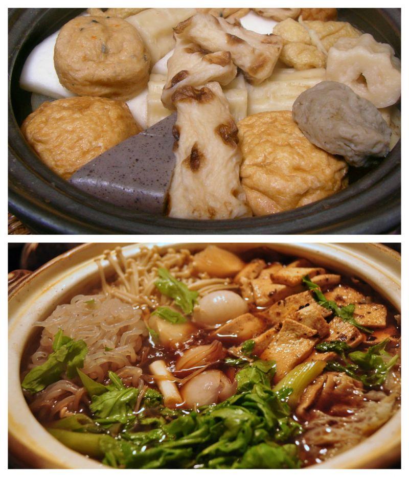 oden và sukiyaki