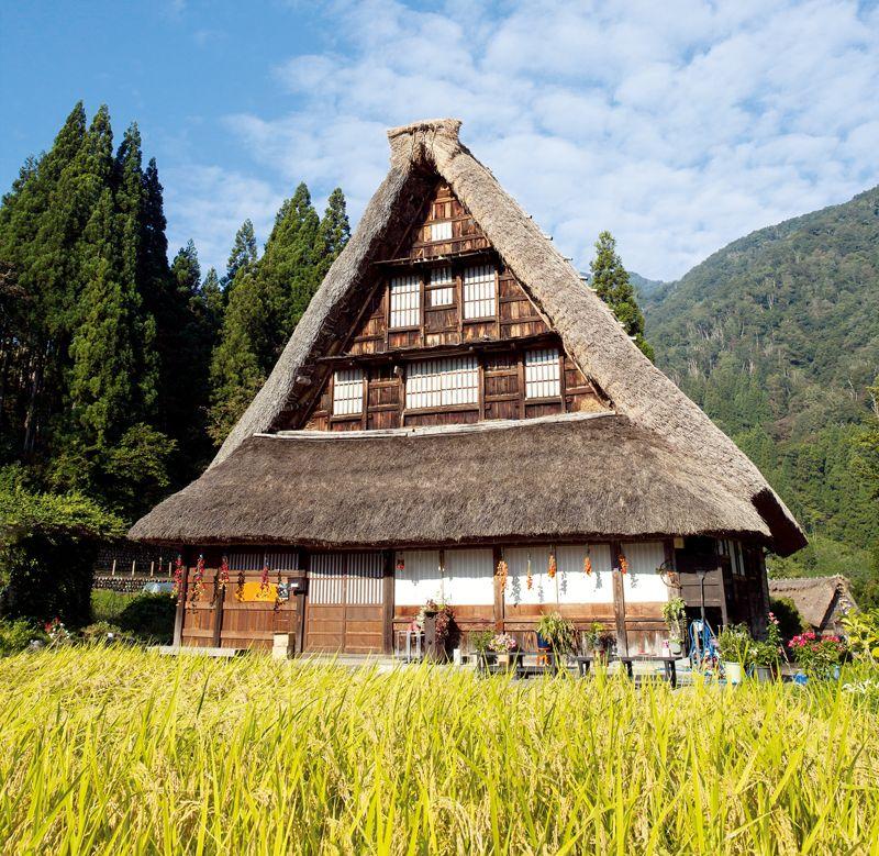 mái nhà Gasshozukuri