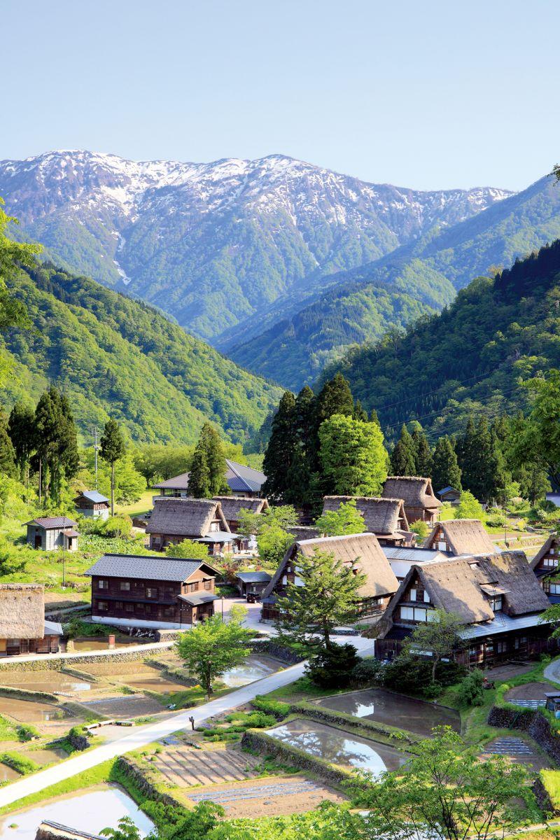 初夏の五箇山・相倉集落