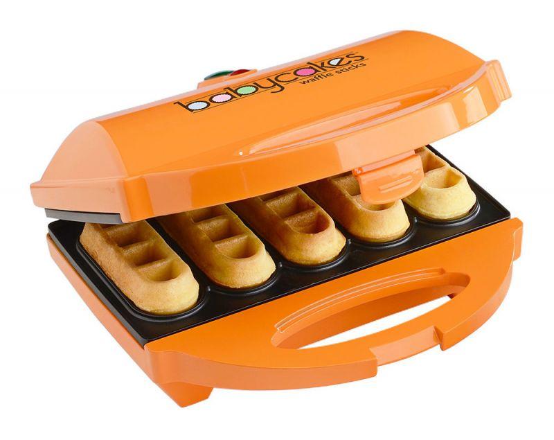 máy làm bánh waffle que