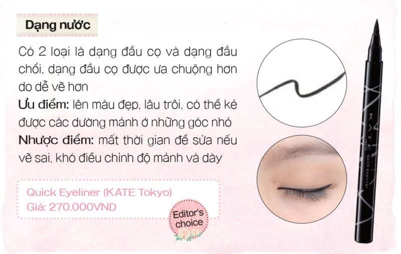 eyeliner nước