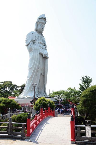 bức tượng tỉnh Gunma