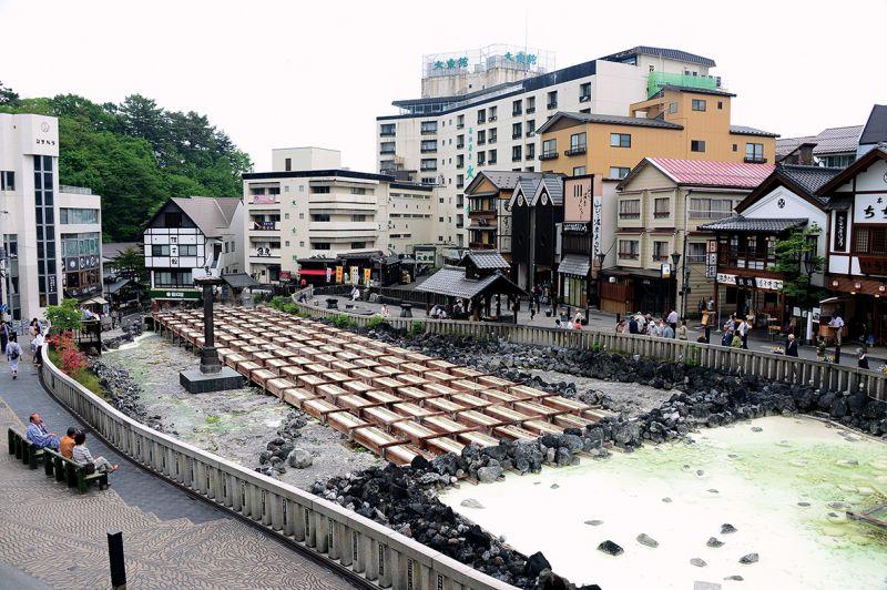 thị trấn Onsen