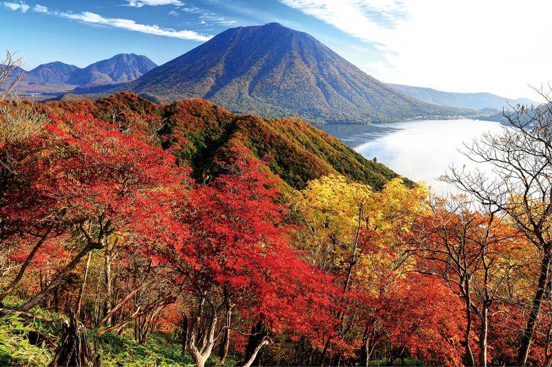 núi Nantai và hồ Chuzenji