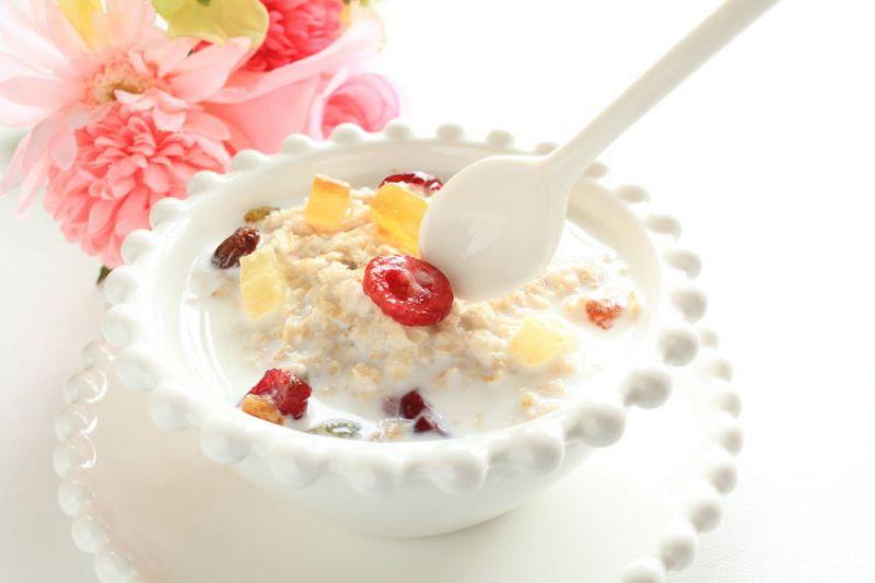 Ăn sáng với bột yến mạch
