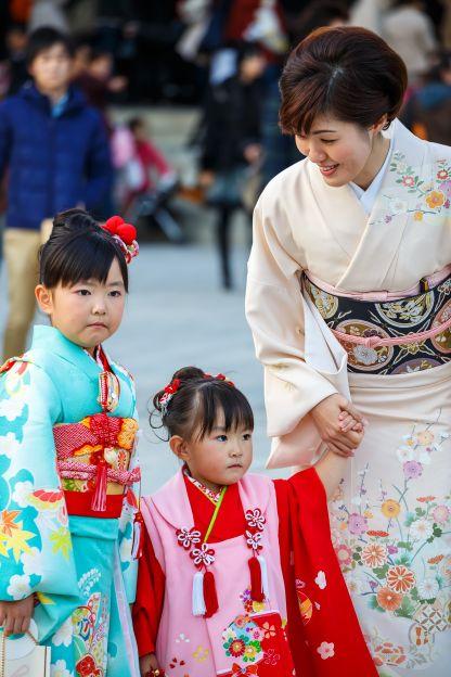 Lễ Shichi-go-san: ngày con lớn khôn