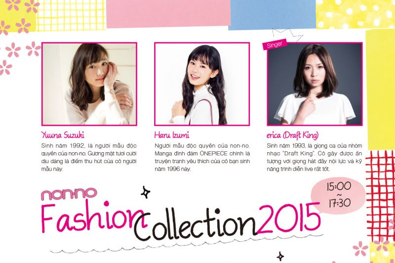non-no fashion collection 2015