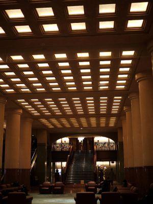 kiến trúc khách sạn Okura Tokyo