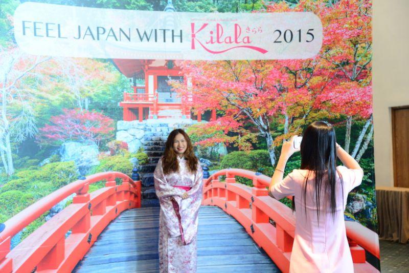 Feel Japan with Kilala 2015