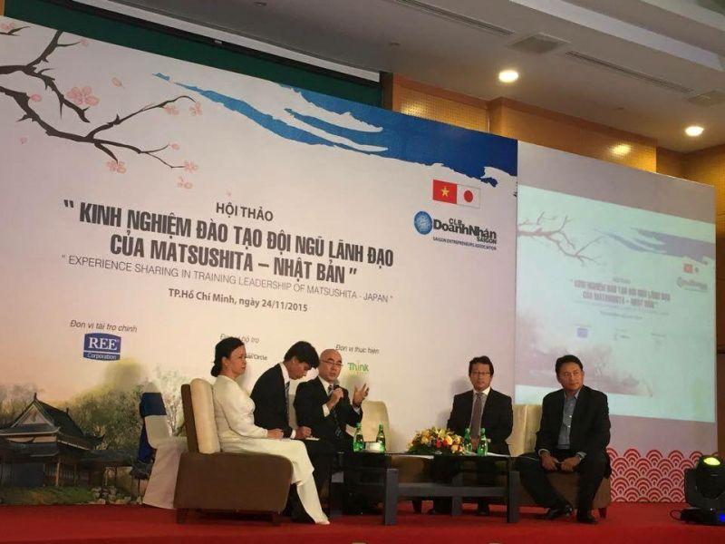 hội thảo, tọa đàm chia sẻ giữa doanh nhân Việt Nam và Nhật Bản