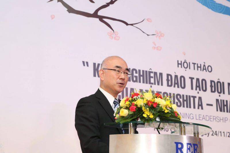 Ông Furuyama Kazuhiro – Giám đốc Học viện Quản Lý – Chính Trị Matsushita