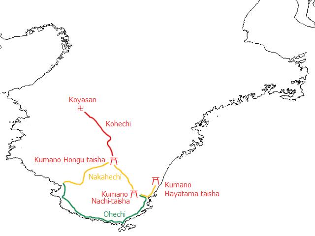 kumano map