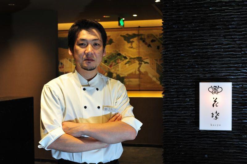 花蝶の料理長・加藤氏