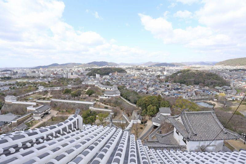 khung cảnh nhìn từ Daitenshu