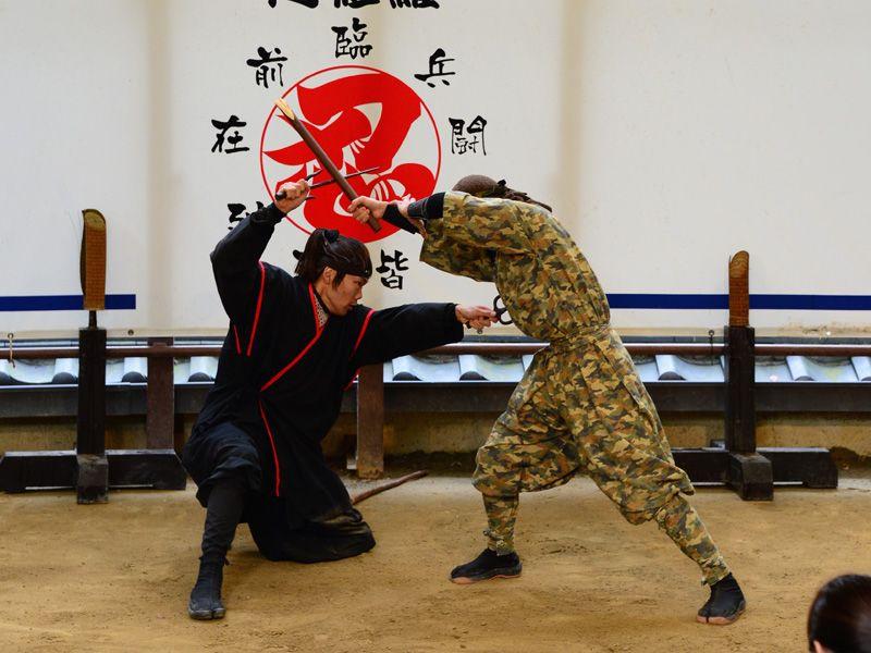 màn trình diễn Ninja