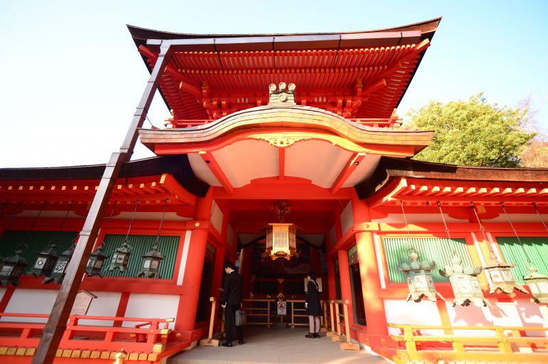 ngôi đền Kasuga Taisha