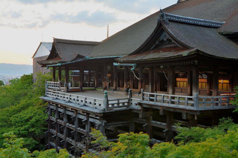 chùa Kiyomizu-dera ở Kyoto