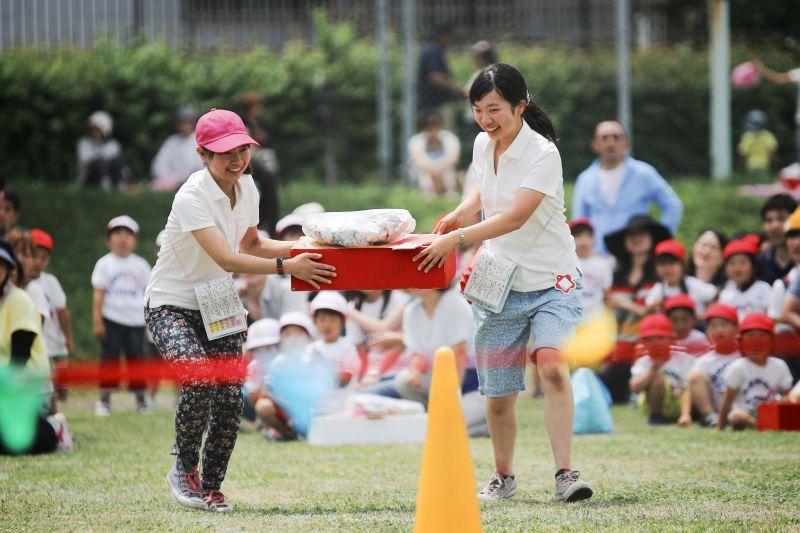 Hội thao tại trường mẫu giáo Nhật