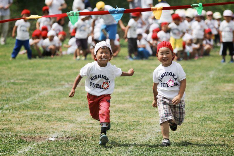 Hội thao ở trường mẫu giáo Nhật