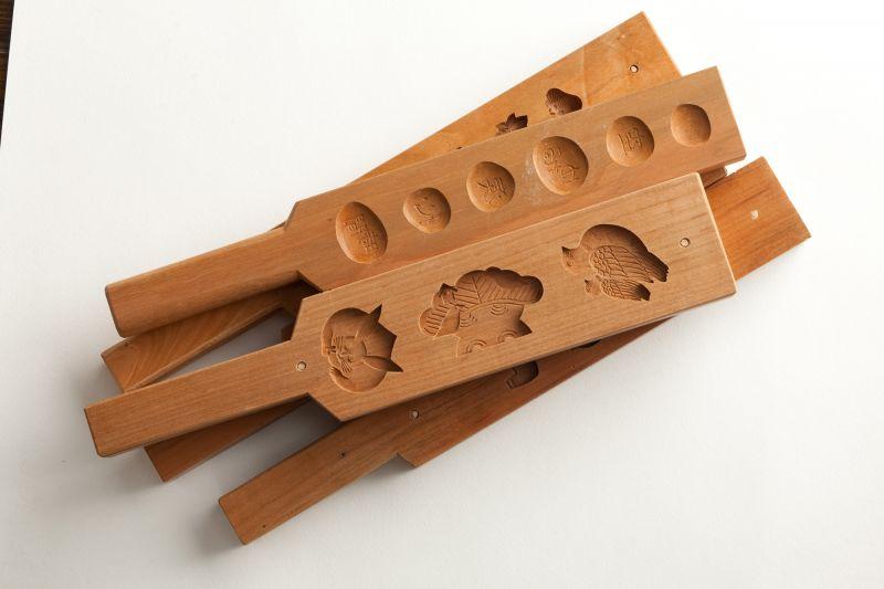 khuôn gỗ Wagashi
