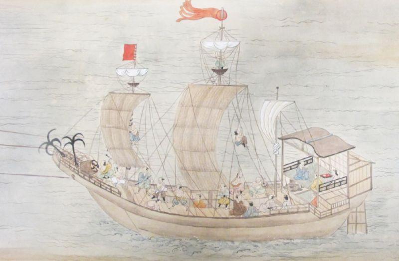 日本の朱印船