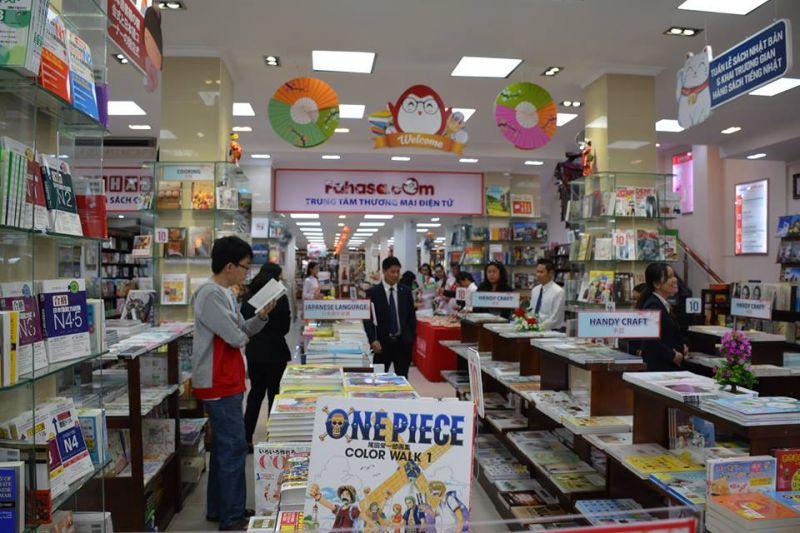 Không gian của Tuần lễ sách Nhật Bản