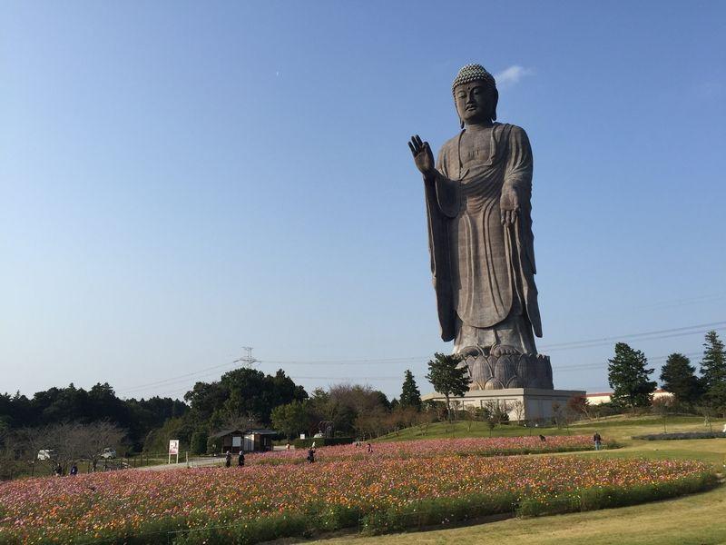 Tượng Phật Di Đà Ushiku Daibutsu