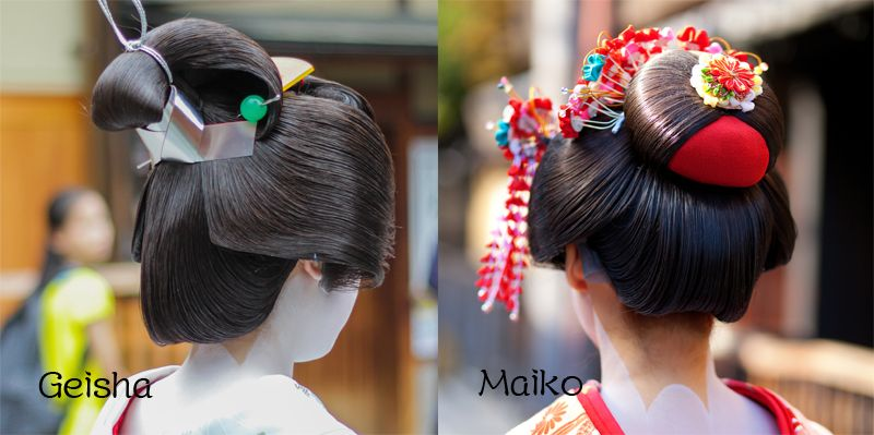 kiểu tóc Geisha và Maiko