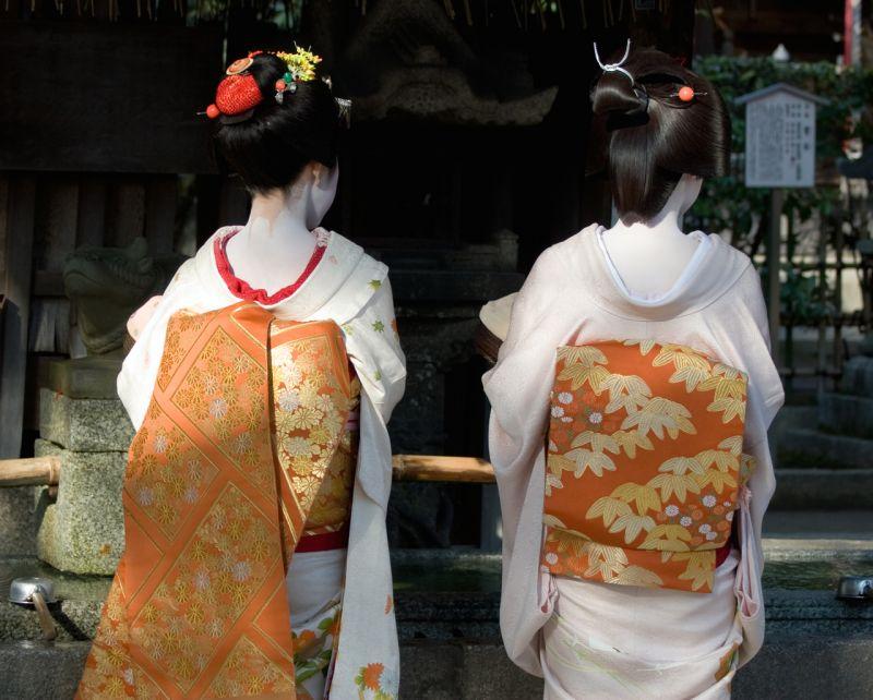 trang phục Geisha và Maiko