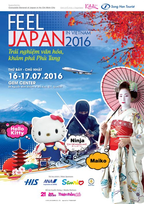 feel japan in vietnam 2016