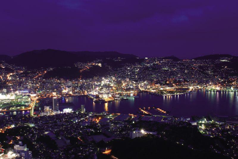 cảnh đêm Nagasaki