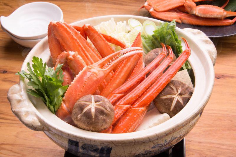 ずわい蟹の鍋