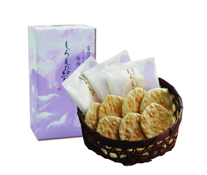 bánh gạo Shiroebi