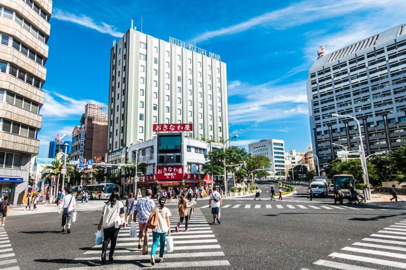 khu thương mại Okinawa