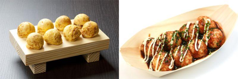 đặc sản Kobe Akashiyaki và đặc sản Osaka Takoyaki