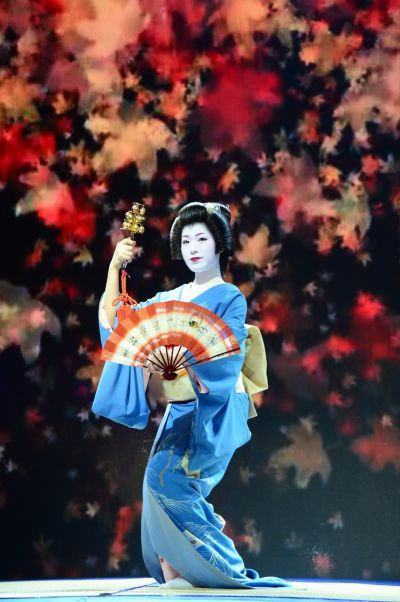 múa truyền thống Geisha