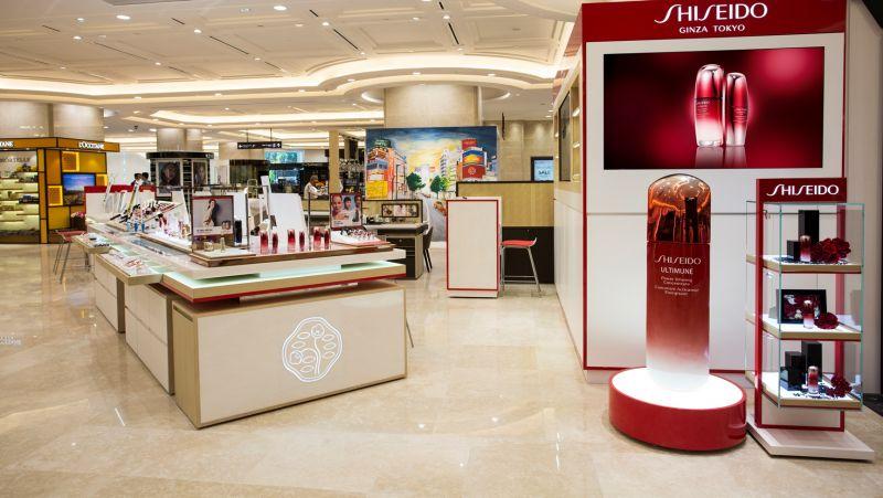 Cửa hàng mỹ phẩm Shiseido