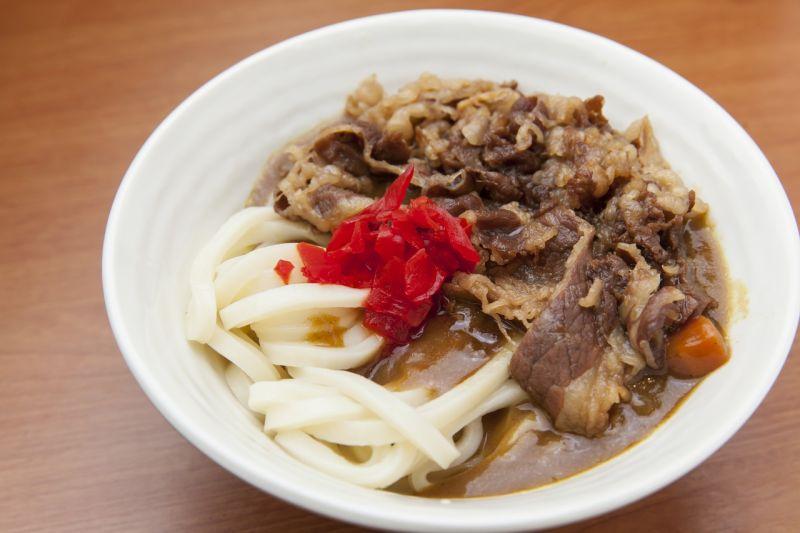 Mì Udon cà ri bò