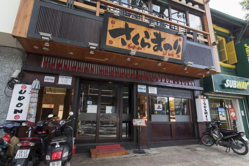 nhà hàng Sakura Matsuri