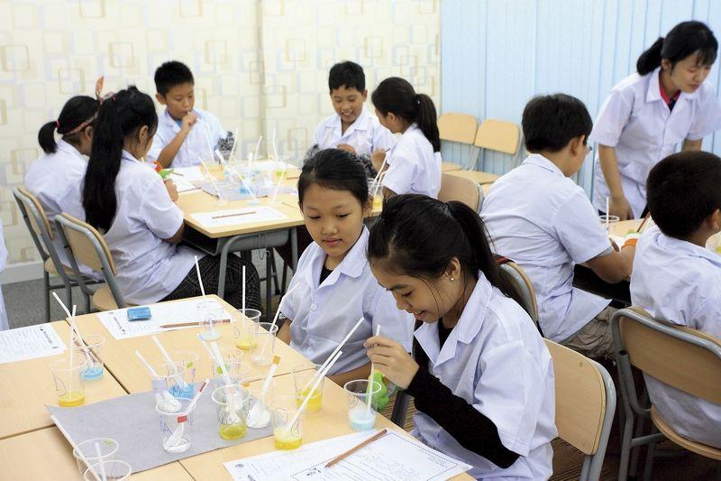 科学実験クラス