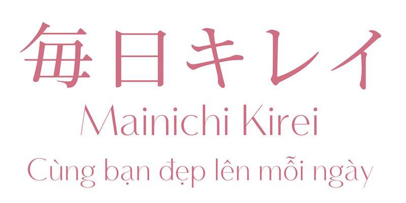 Mainichi Kirei cùng bạn làm đẹp mỗi ngày