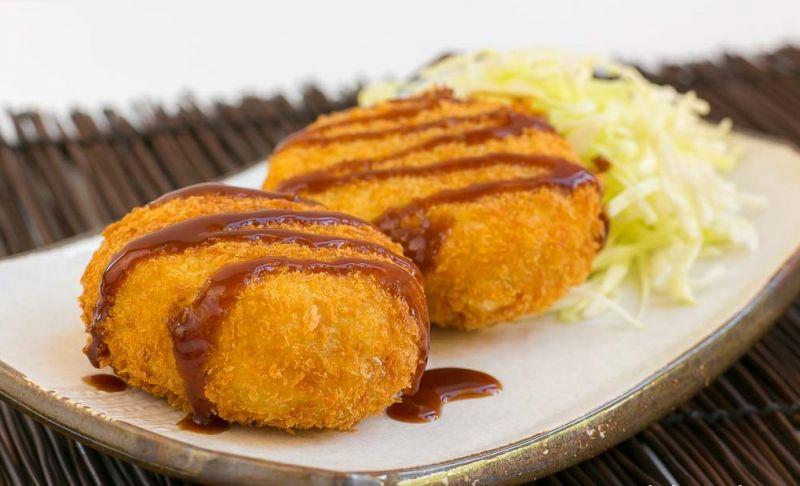 bánh Korokke với hương vị chính thống
