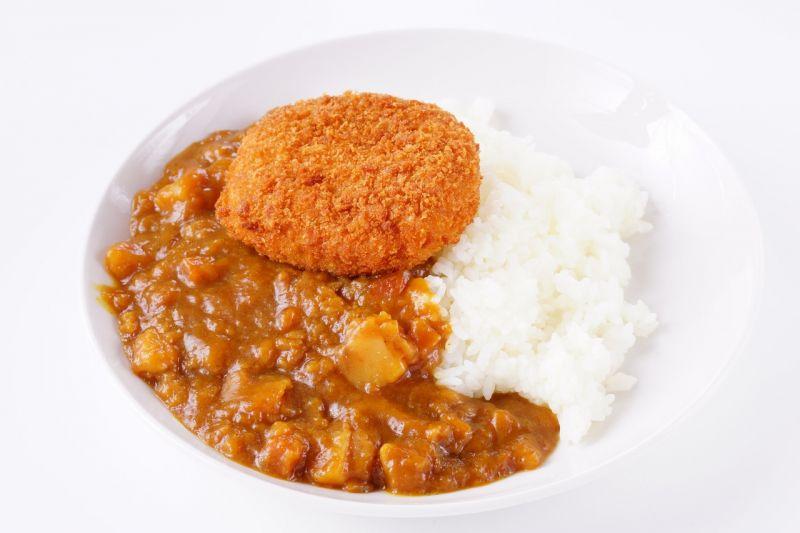 Cơm cà ri Korokke