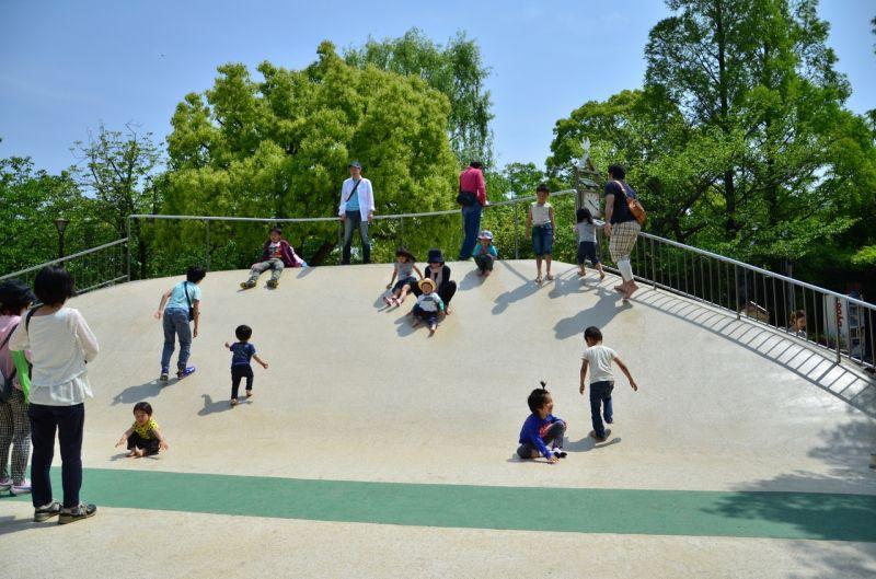 công viên cuối tuần cho trẻ ở Tokyo