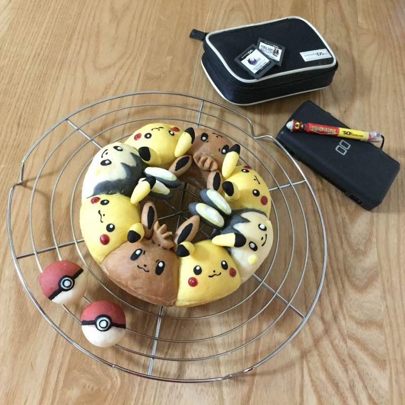 Chigiripan với tạo hình Pokémon